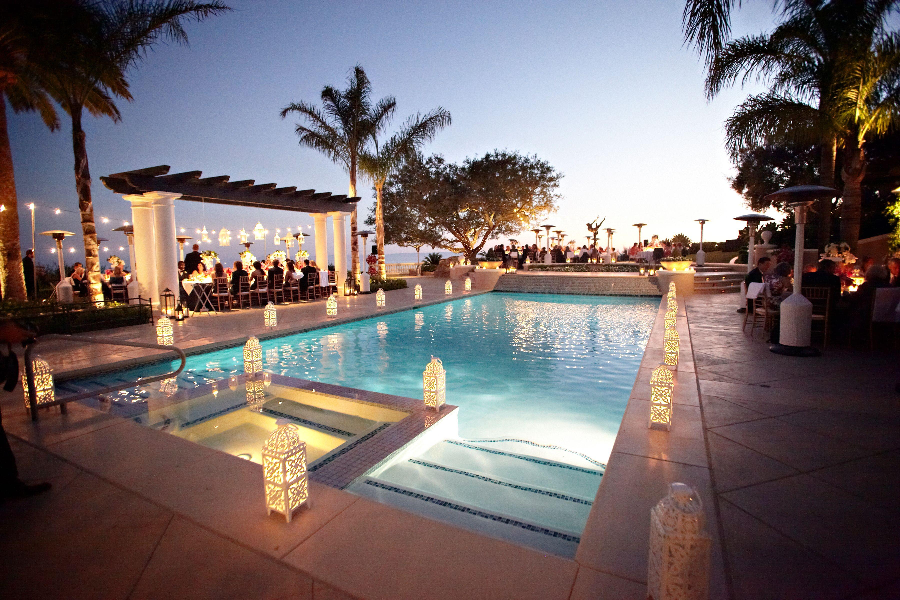poolside wedding - Google Search   Pool wedding, Pool ...