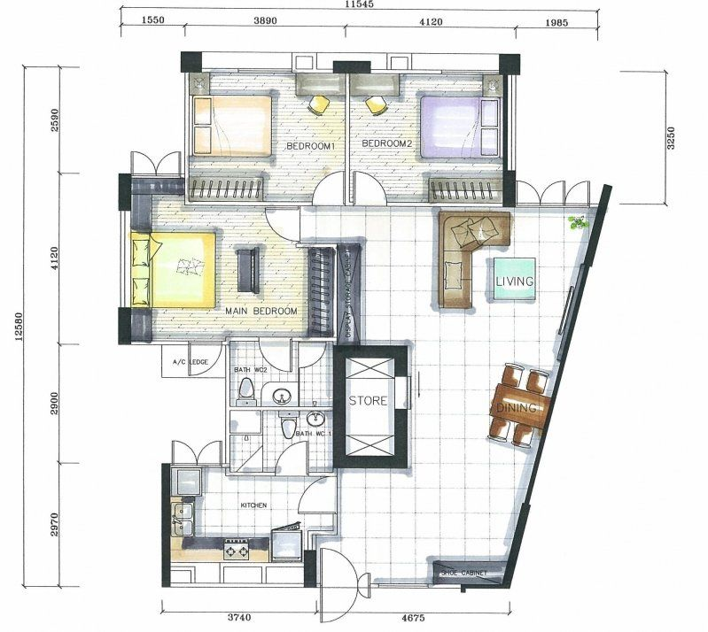Sensational Furniture Layout Plan Master Bedroom Won T Be That Accurate Download Free Architecture Designs Scobabritishbridgeorg