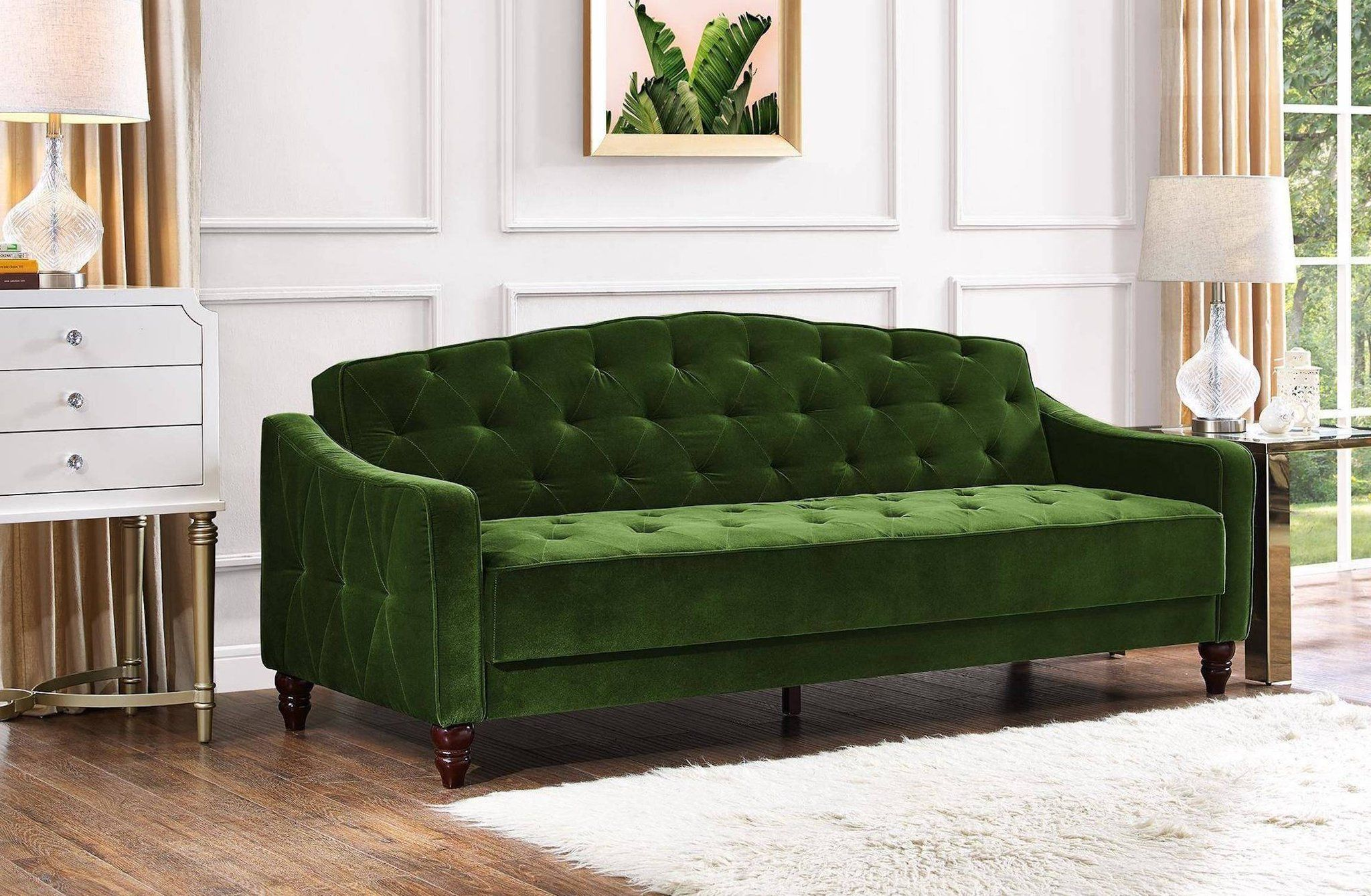 Nobody Ever Believes I Bought This Velvet Couch For 471 At Walmart Vintage Sofa Tufted Sofa Best Sofa
