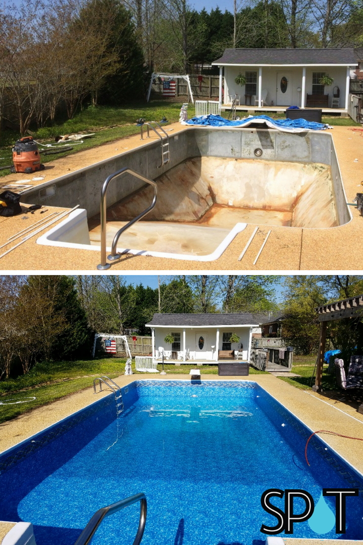 A new liner from #SwimmingPoolsofTupelo will #transform ...