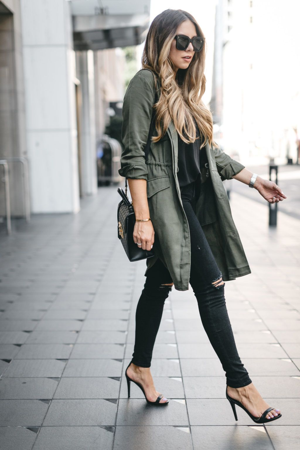 Army Green Trench Coat The Teacher Diva A Dallas Fashion Blog Featuring Beauty Lifestyle Army Green Jacket Outfit Green Jacket Outfit Green Trench Coat [ 1536 x 1024 Pixel ]