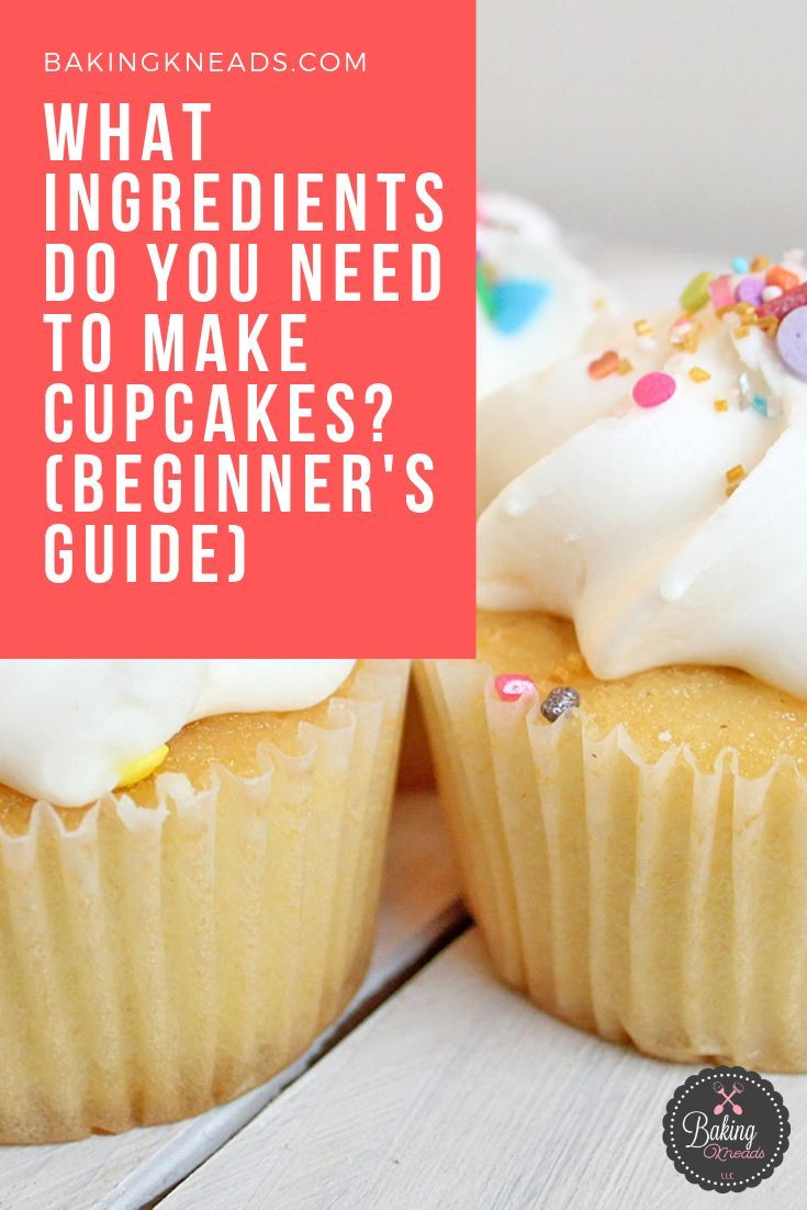 What Ingredients Do You Need To Make Cupcakes   Beginner U0026 39 S
