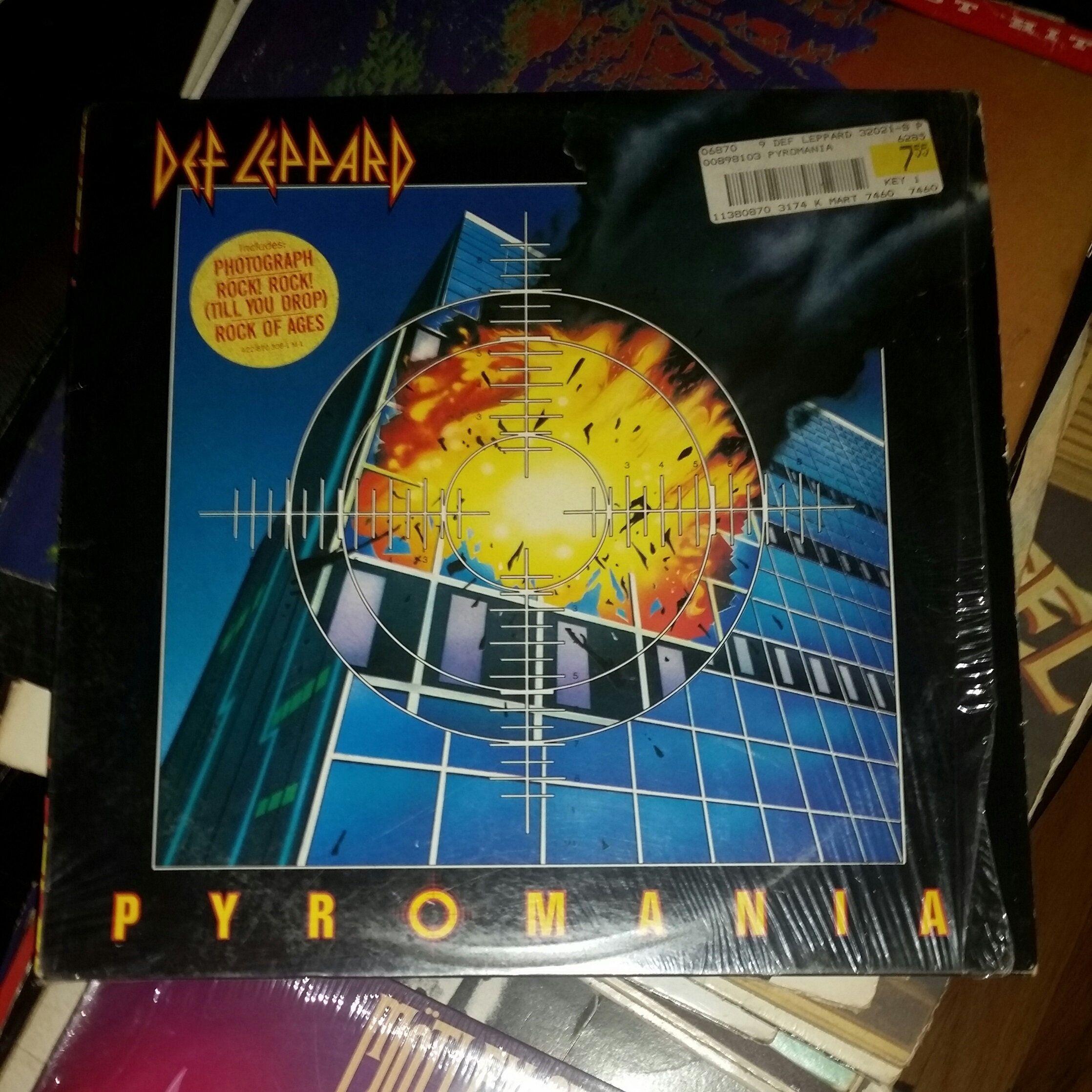 Def Leppard Album 1983 Pyromania Original Near Mint