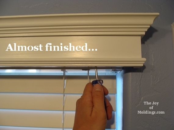How to Make Box Valances | How to Build a Small Valance Box for $14.54 | The Joy of Moldings & How to Make Box Valances | How to Build a Small Valance Box for ...