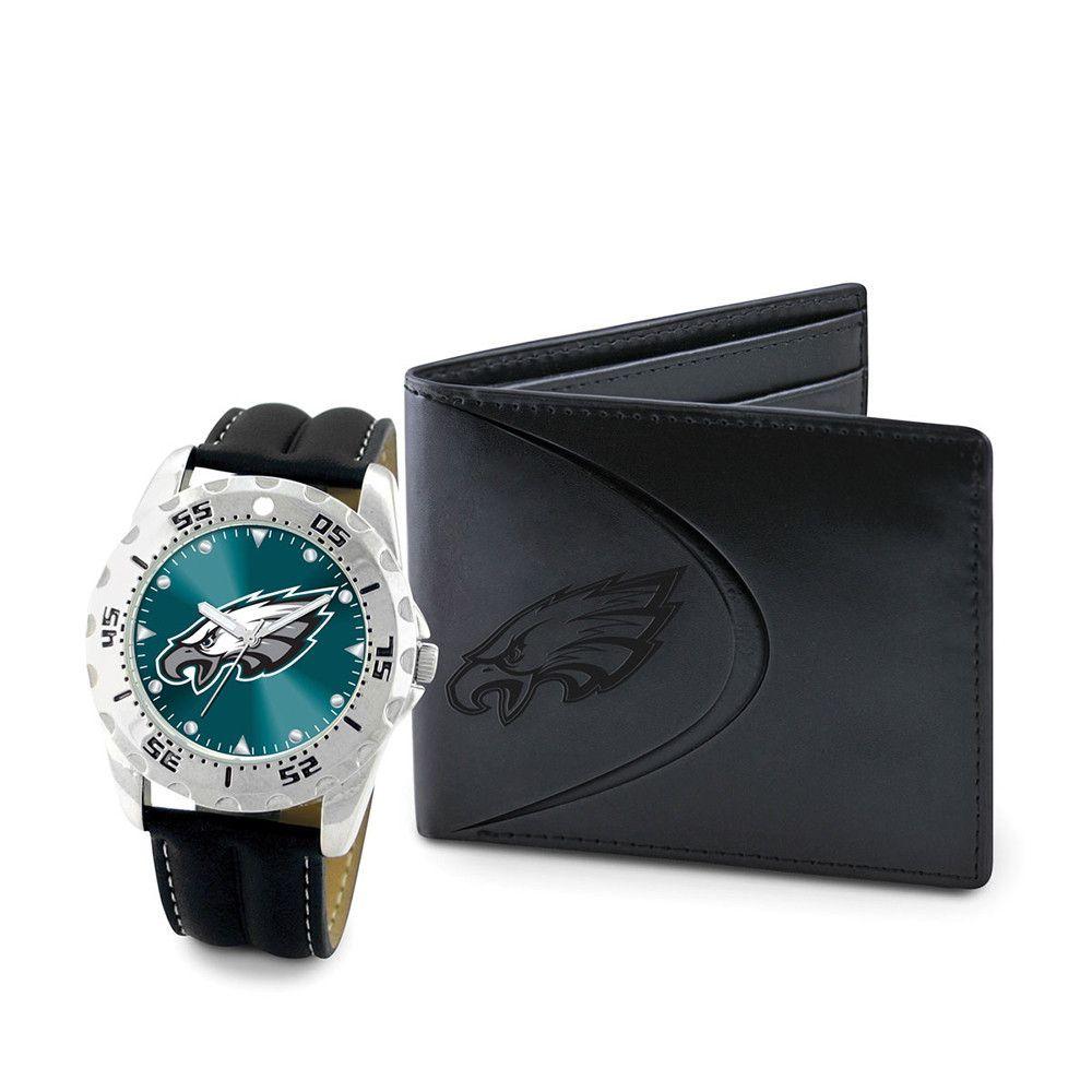 Philadelphia Eagles NFL Men's Watch & Wallet Set