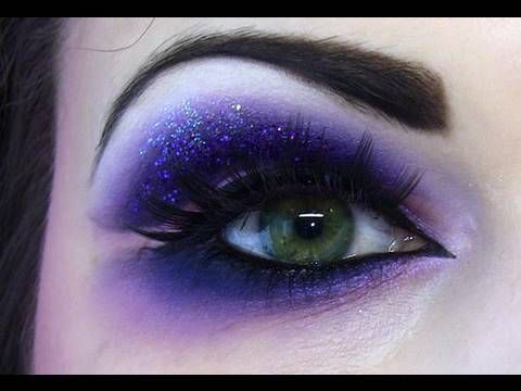 How To Create A Naughty Dramatic Purple Eye Makeup Look Dramatic