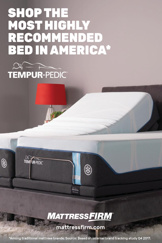 Only Tempur Pedic Offers Next Level Sleep Technology For Rejuvenating Sleep And Indescribable Comfort Feel It For Your Mattress Firm Mattress Pillow Mattress