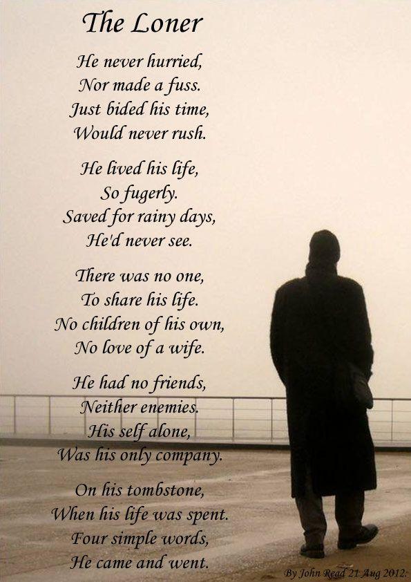 sad loner quotes