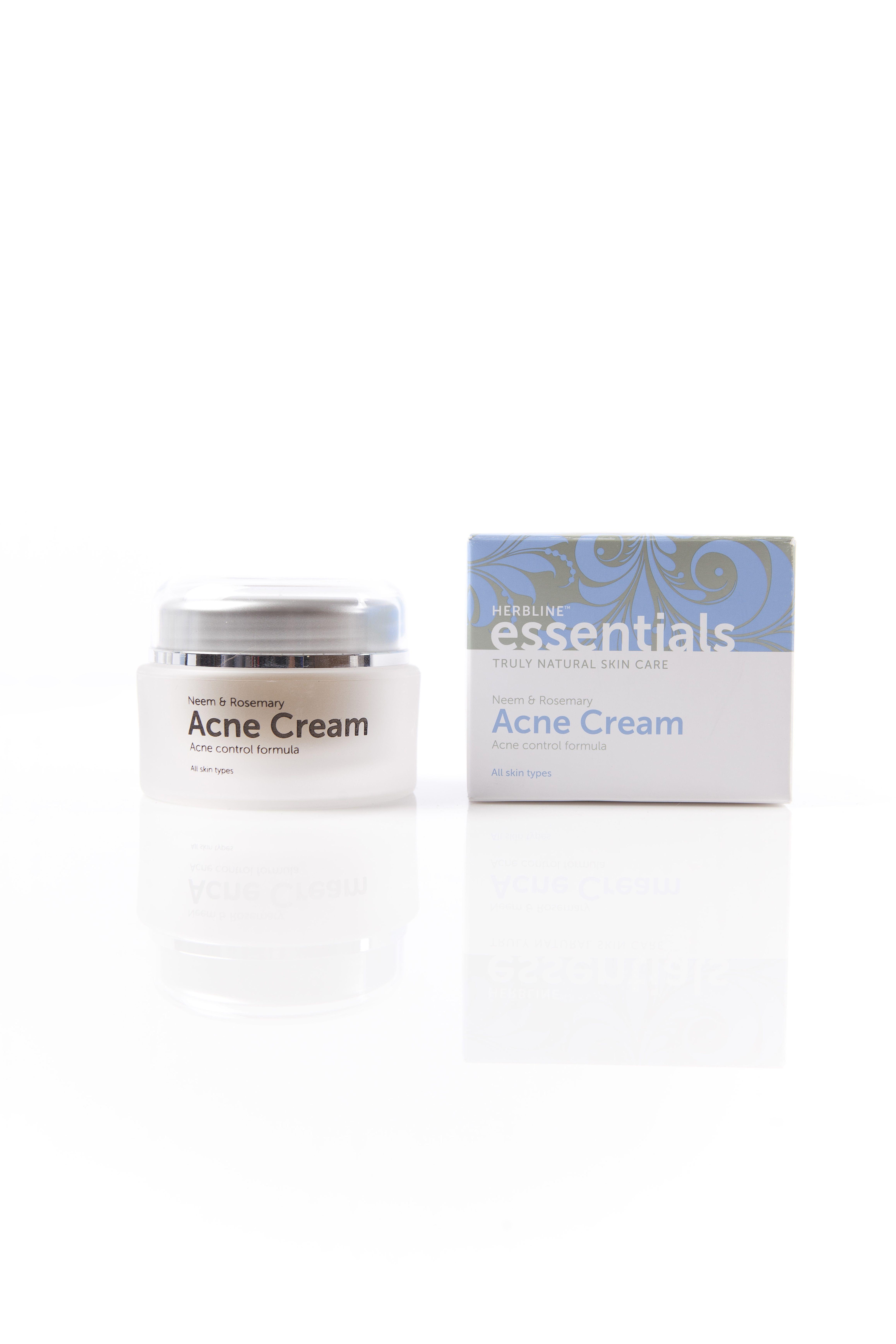 Herbline Essentials Acne Cream Acne Cream Acne Control Natural