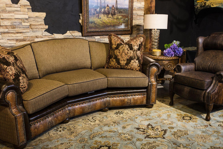 Aledo Sofa Western Living Rooms Home Furnishings Sofa