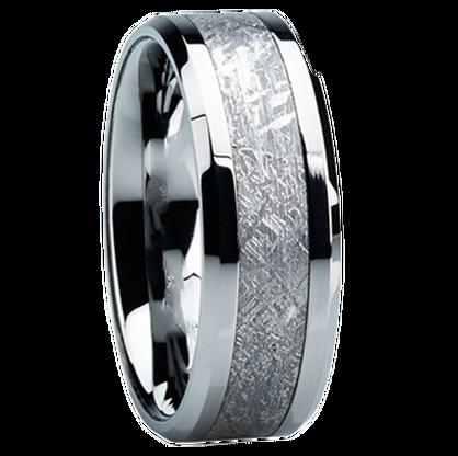 8mm Tungsten Carbide With Antler Inlay C121m At Mwb Mens Wedding Rings Unique Titanium Wedding Band Mens Mens Wedding Bands Tungsten