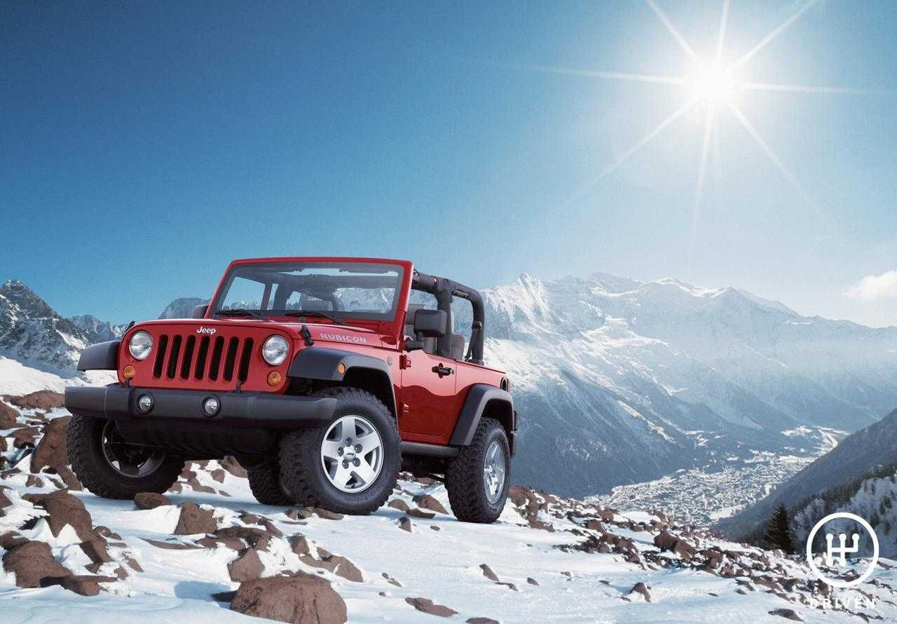 Jeep 2007 Wrangler Rubicon Technical Features & Pictures