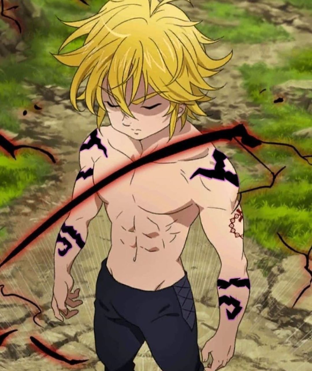 """Official Seven Deadly Sins on Instagram """"Name an anime"""