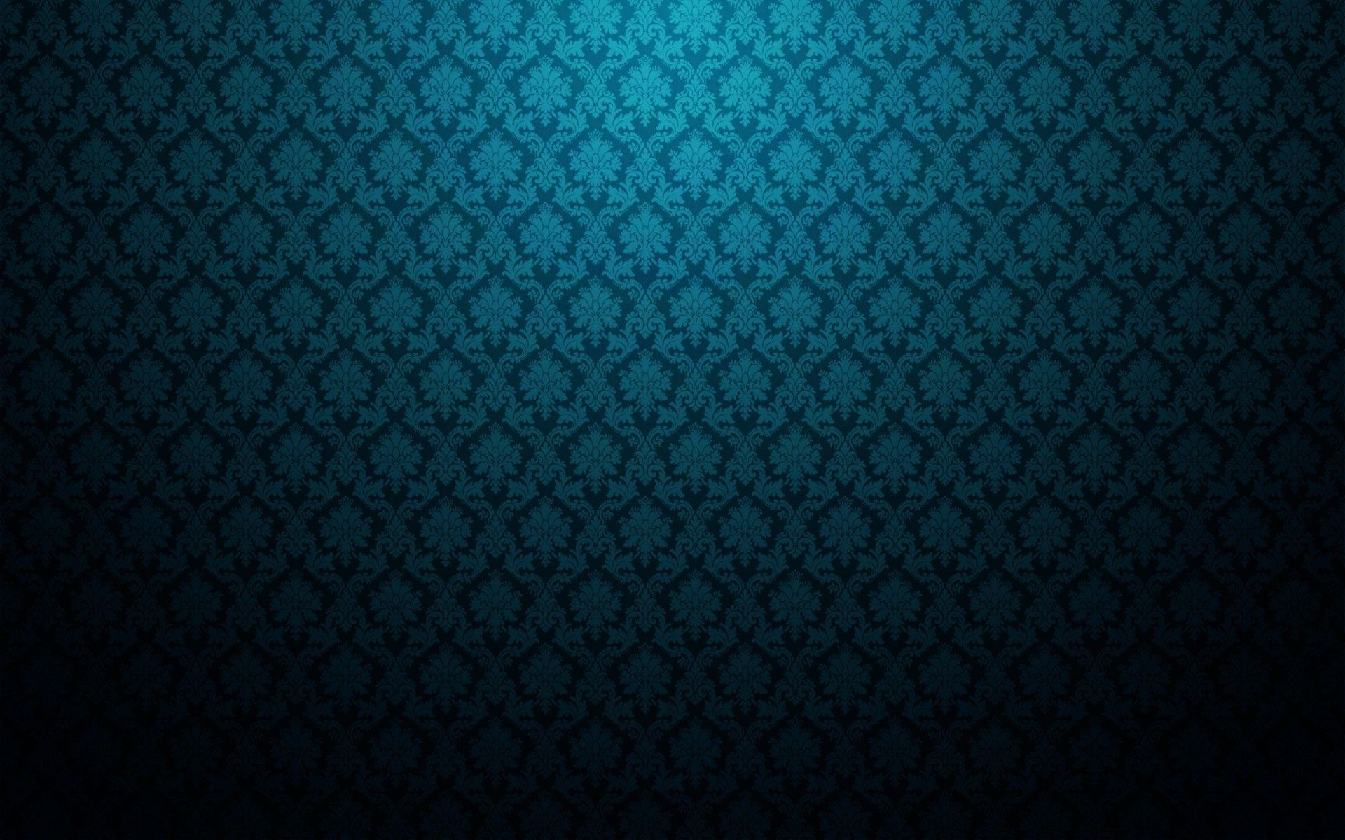 Turquoise Vintage Wall Pattern Wallpaper 5287 Blue Wallpapers
