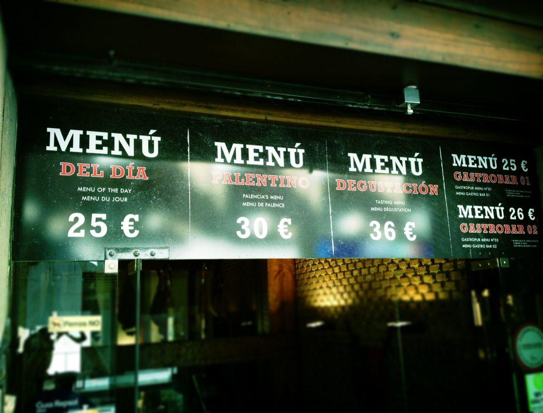 Ni la variedad ni el precio sirven de excusa en @Lucio_Gastrobar #menús especiales  www.restaurantecasalucio.com