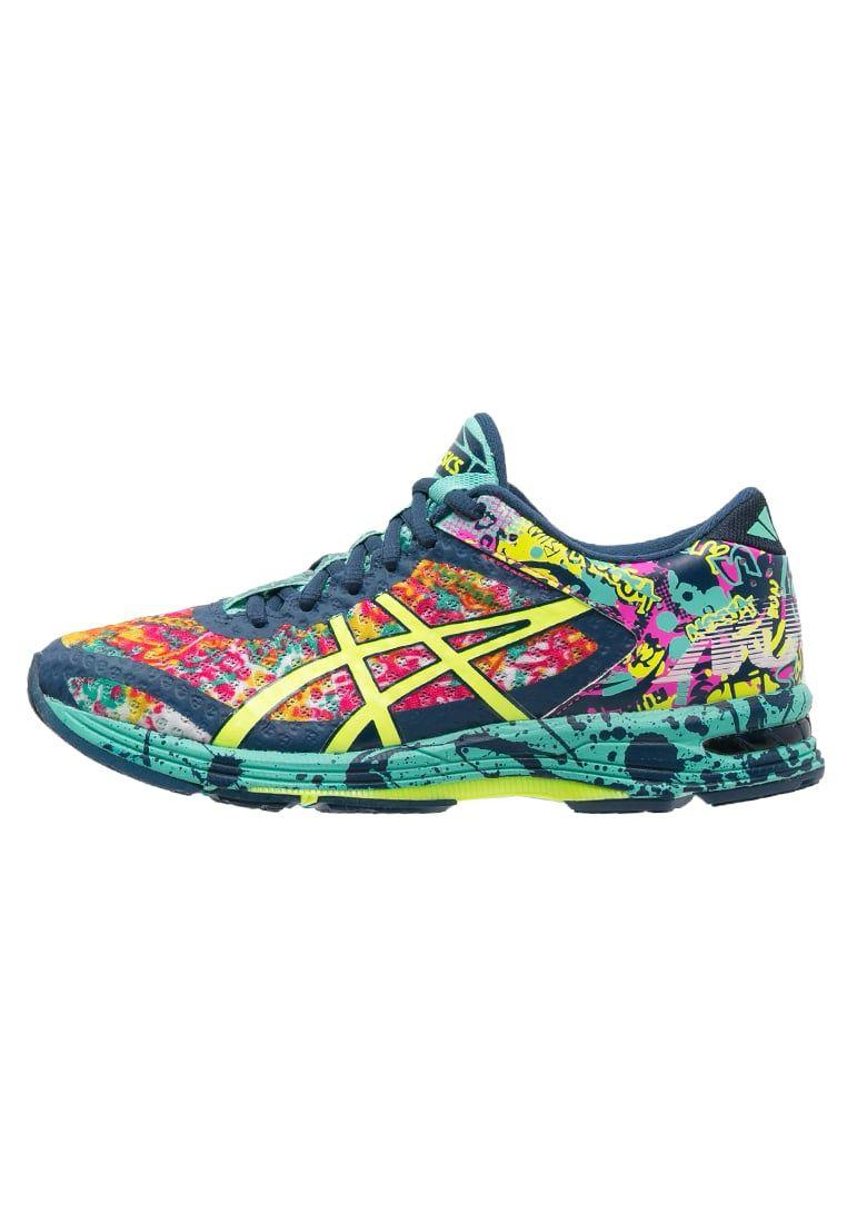 ASICS zapatillas deportivas multicolor de cuero para mujeres