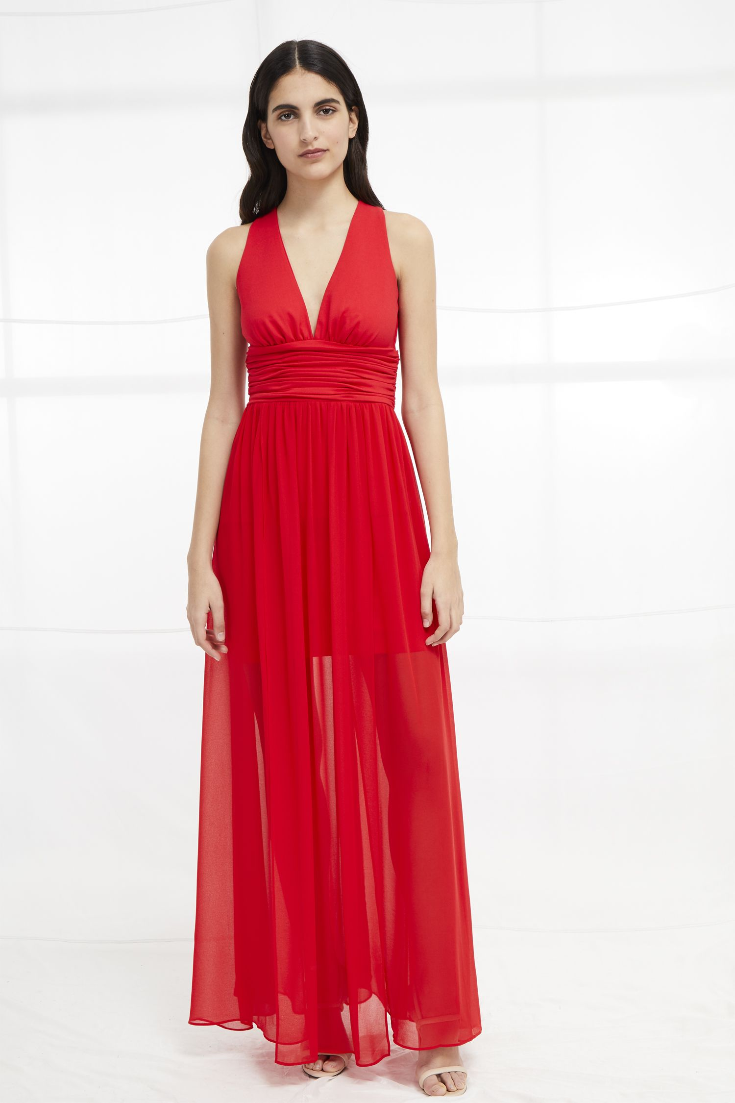1a8380f5dc1 Andros Jersey Halter Maxi Dress | Occasionwear | French Connection