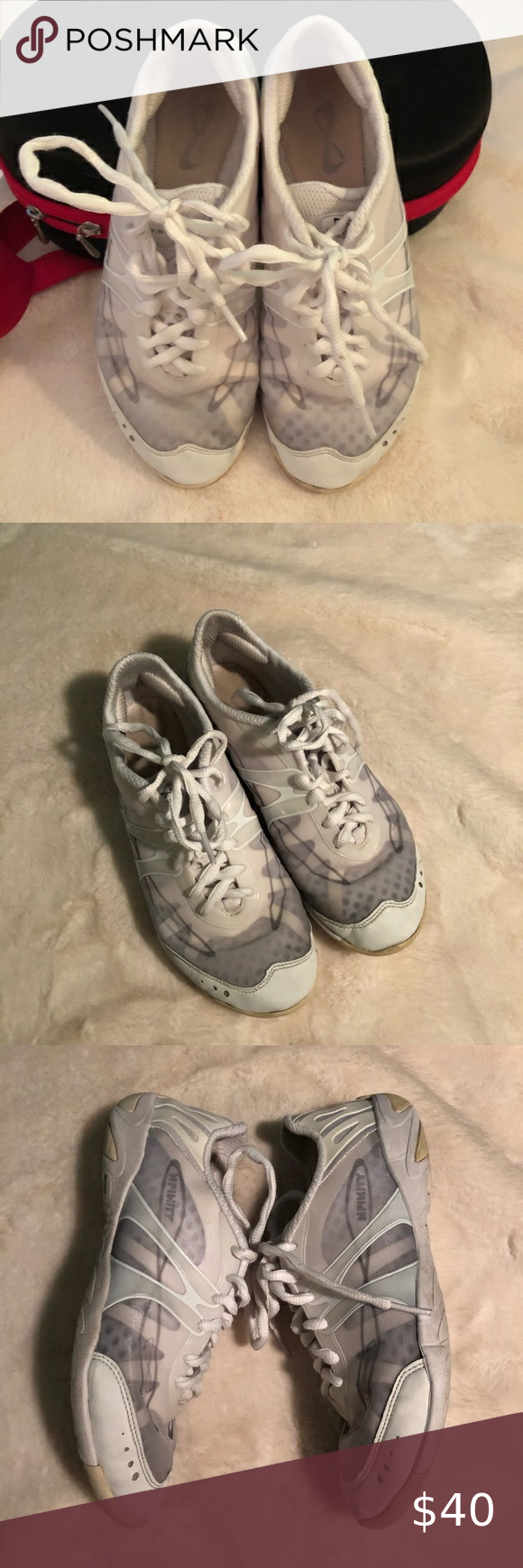 Nfinity Vengeance Cheer Shoe Size 8 Case In 2020 Cheer Shoes Nfinity Shoes Nfinity