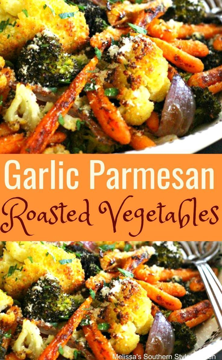 Garlic Parmesan Roasted Vegetables #vegetarian #vegetables #baking #sidedish #he… – Dinnerideas.Site