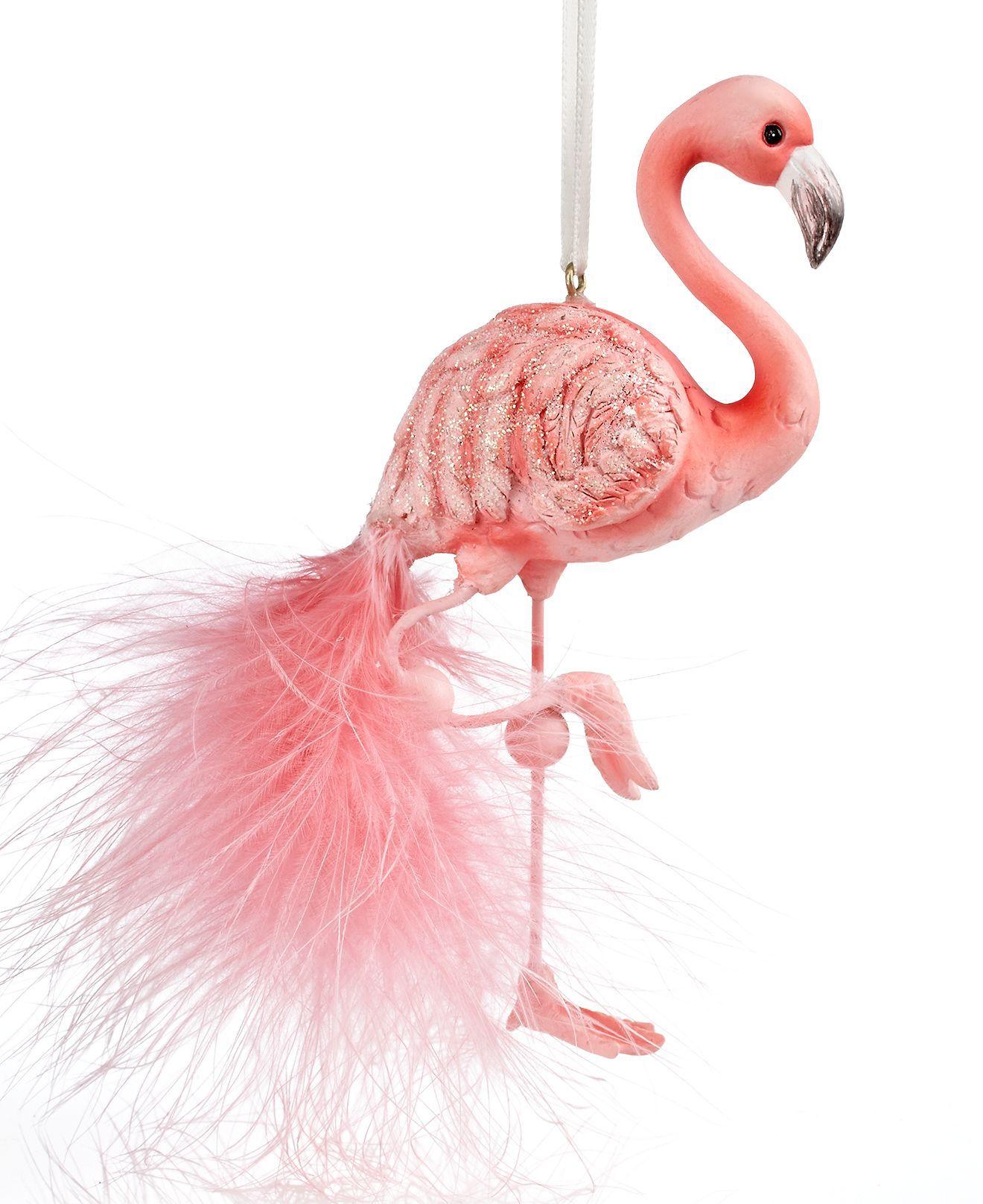 Flamingo Christmas Decorations: Flamingo Ornament, Flamingo