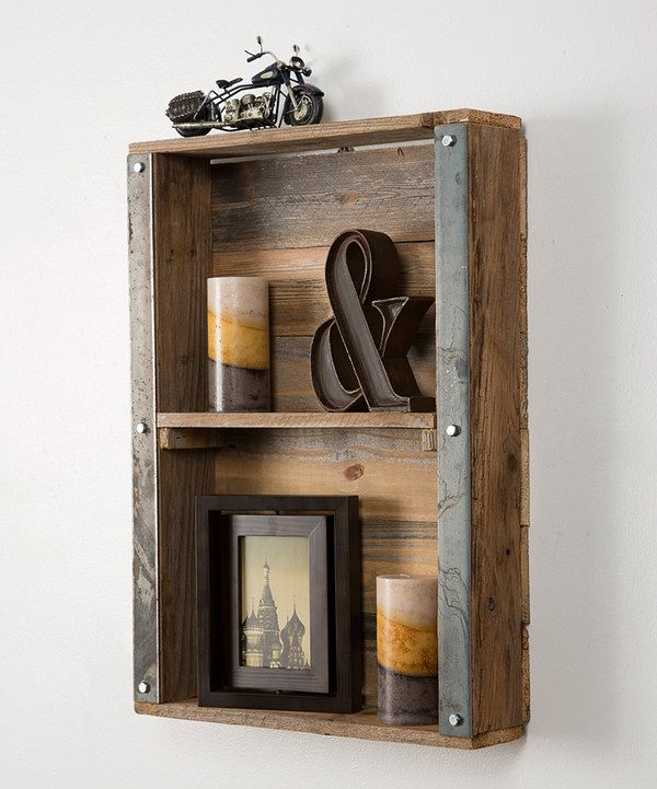 Look at this Industrial-Style Wall Shelf on #zulily today!