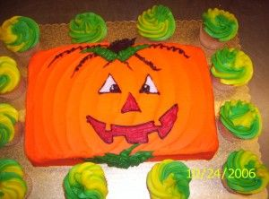 easy decorating for a sheet cake - Easy Halloween Cake Decorating Ideas