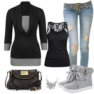 Grey&blk outfit w/boots(dont so much care for those tho lol)