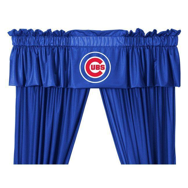 Chicago Cubs Window Valance