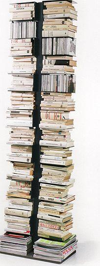 Büchersäule Bücherregal Ptolomeo PTX2   Bücherregal