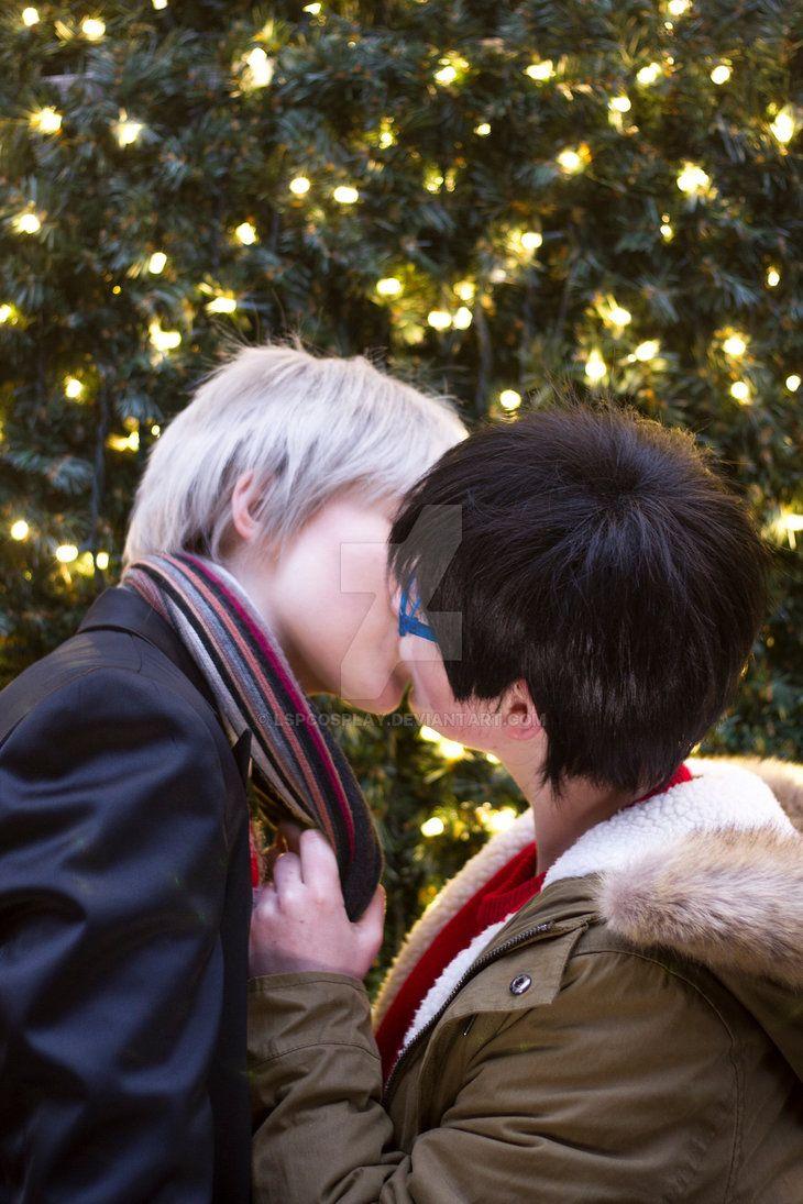 Yuri On Ice: Christmas Kiss by LSPcosplay.deviantart.com on ...