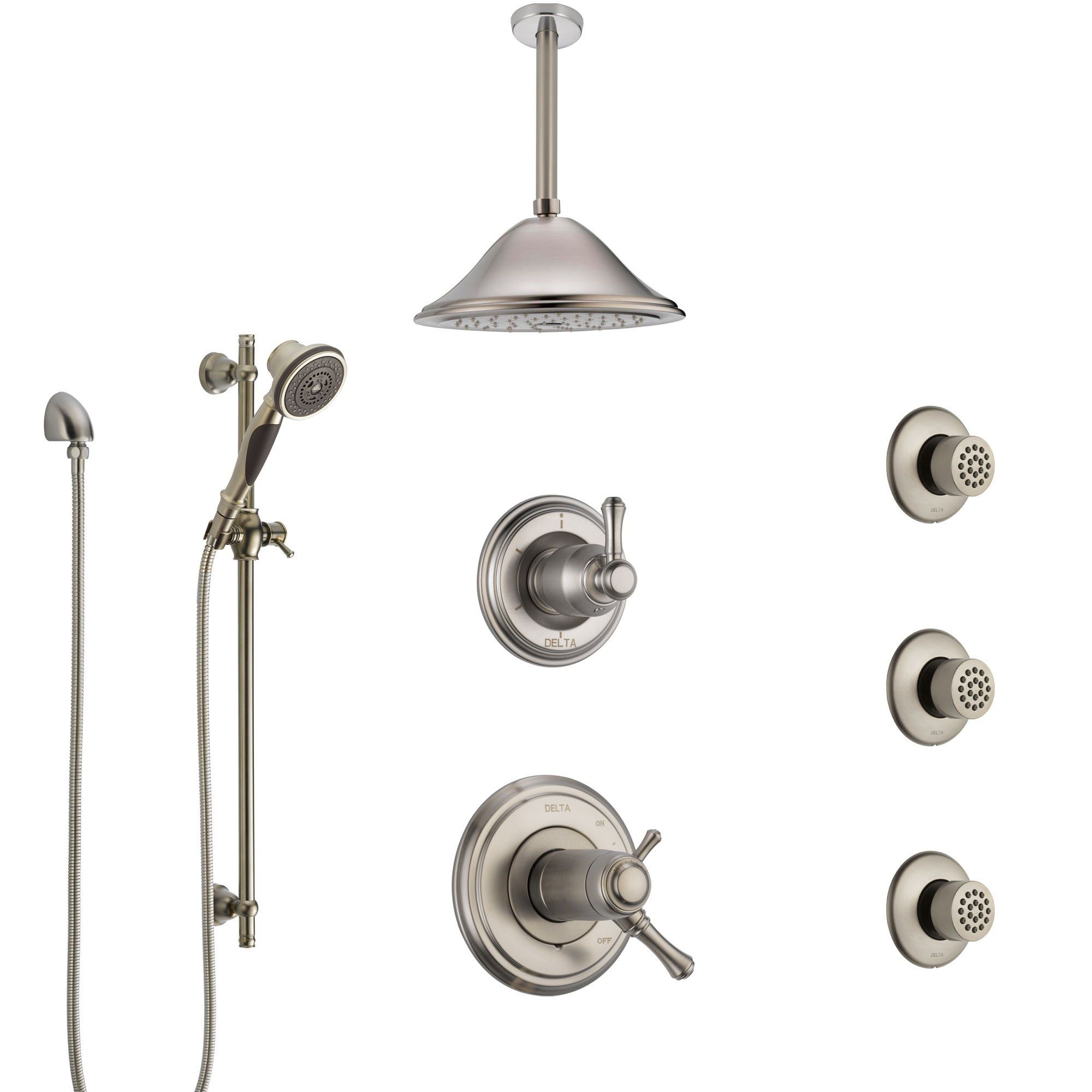 Delta Cassidy Dual Thermostatic Control Stainless Steel Finish