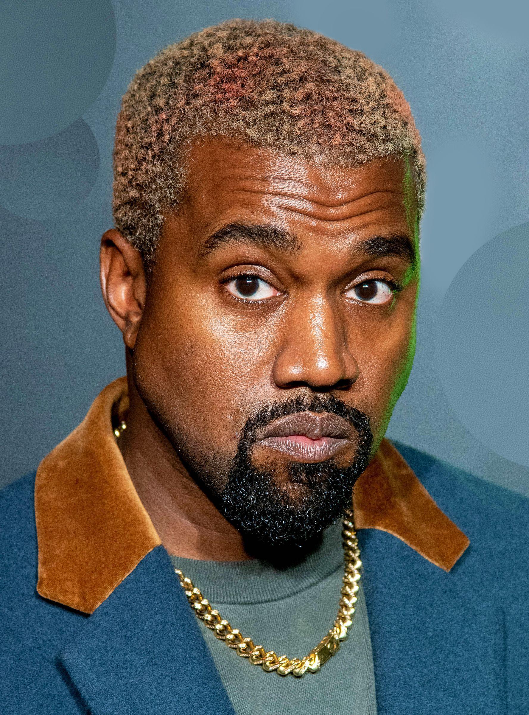 Kanye West S New Hairstyle Has Split The Internet Kanye West Hair Luke Evans Boyfriend Kanye West