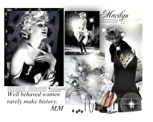 Finding inspiration from Marilyn