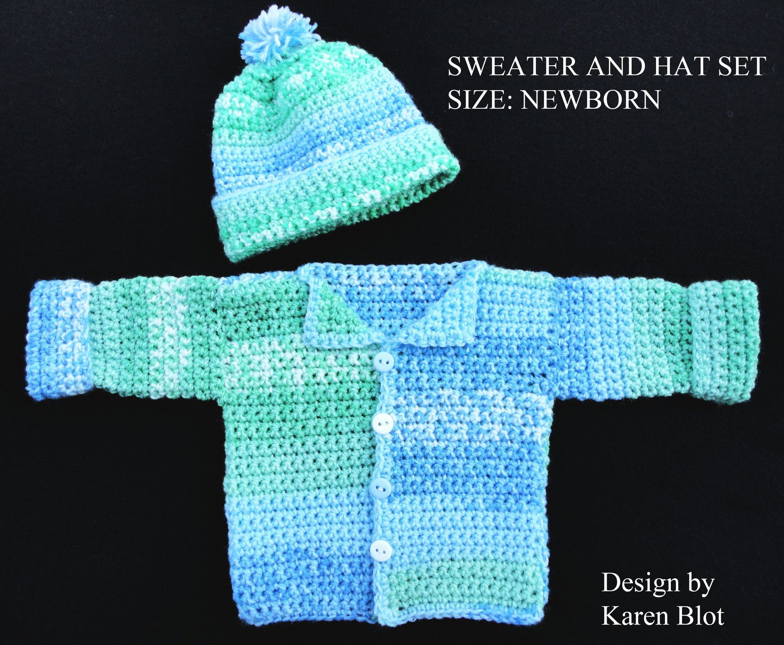 Quick crocheted baby sweater made in one piece creative jewish free crochet pattern simple sweet baby sweater from the baby bankloansurffo Choice Image