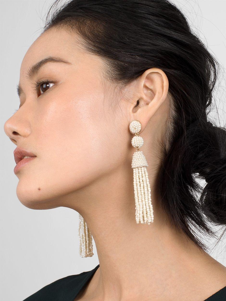 New Granita Tassel Earrings BAUBLEBAR Gold Tone