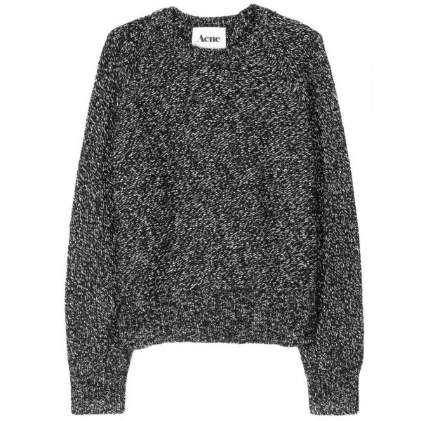 Acne Ruth Knit Pullover ($311) ❤ liked on Polyvore