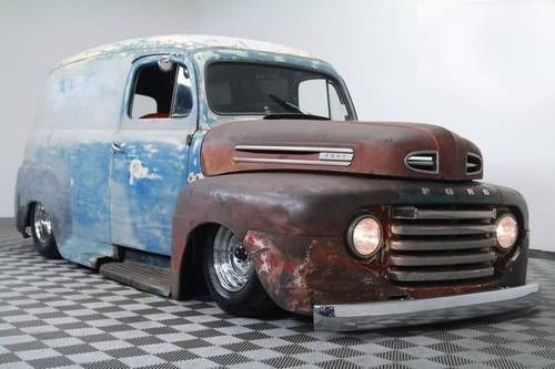 1950 FORD PANEL VAN RAT ROD FULL AIR RIDE V8 AUTO For Sale