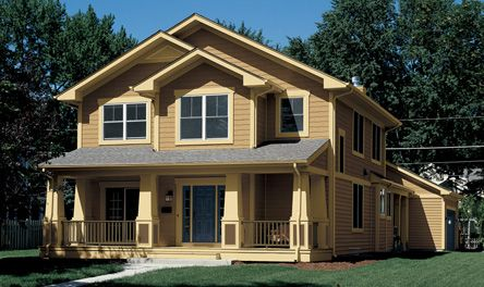 Valspar Exterior Paint Colors for Craftsman Homes: Caraway Seed ...