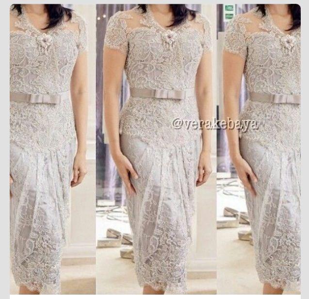 Vera Kebaya Dress 21 Silver Kebaya Kebaya Dress Kebaya