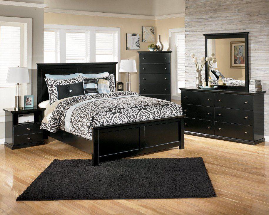 Bedroom Furniture, Black Wood Bedroom Furniture