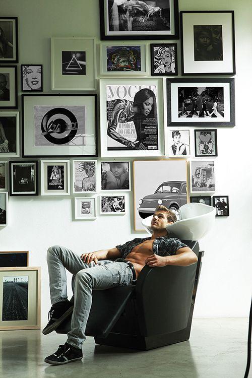 Collezione dark collezioni arredo salone vendita i for Arredi per parrucchieri