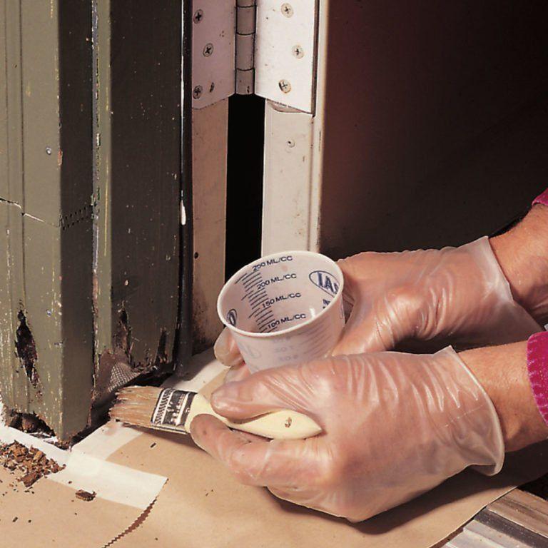 How to repair rotted wood wood repair diy home repair