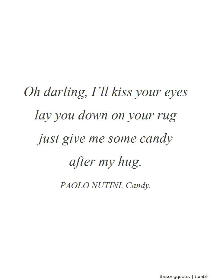 Will Have Paolo Nutini Candy Lyrics Wall Art In The Spare