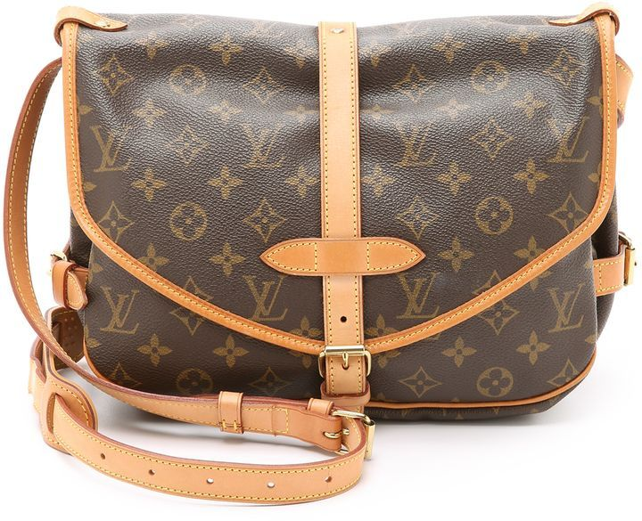 afb1c73787c What Goes Around Comes Around Louis Vuitton Monogram Saumur 30 Bag  (Previously Owned)