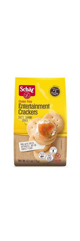 Great Entertainment Crackers by Schar.