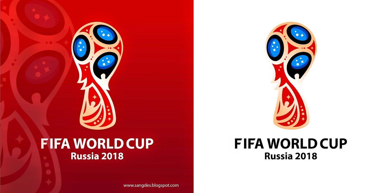 Resultado de imagen para logo rusia 2018 vector ... Fifa World Cup Trophy Vector