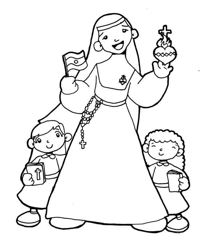 Beata Catalina De Maria Rodriguez Para Pintar Pintar