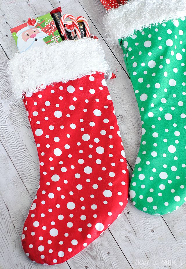 Easy Christmas Stocking Pattern | December | Christmas