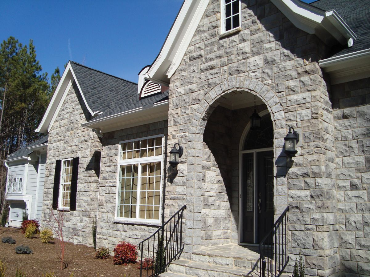 houses with stone exterior | ... of stone veneer to choose from ...