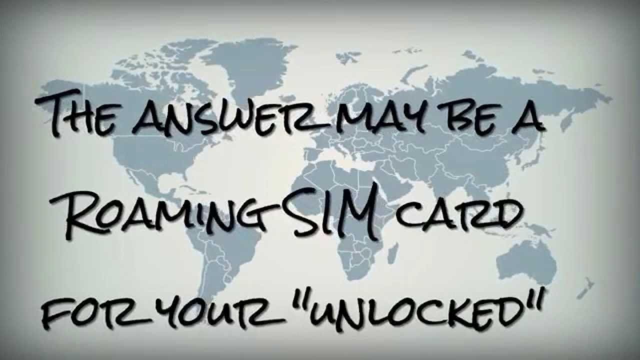 How to save money using global roaming mobile sim sim